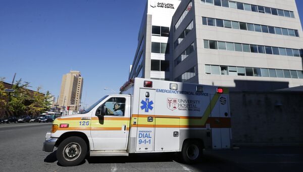 Карета скорой помощи в Нью-Арке, США
