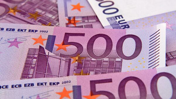500 евро. Архивное фото