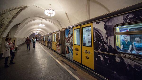 Поезд метро. Архивное фото