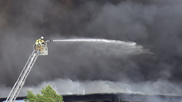 Немецкие пожарные