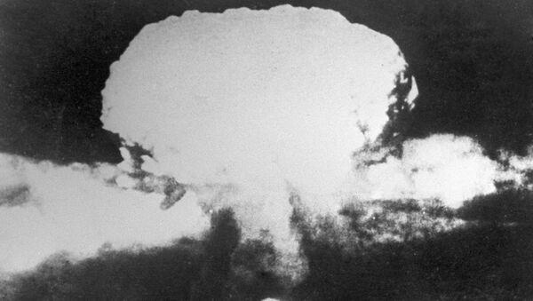 Атомный взрыв в Японии. Архивное фото