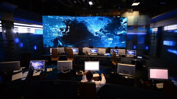 Ньюсрум телеканала Россия 1 в здании ВГТРК