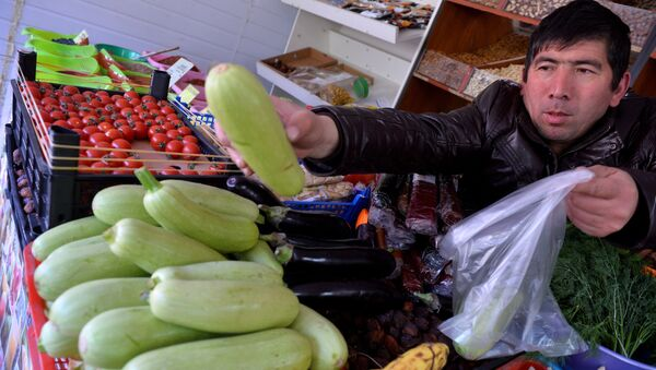 Продажа овощей. Архивное фото