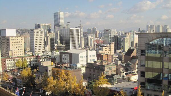 Жилой район Сеула