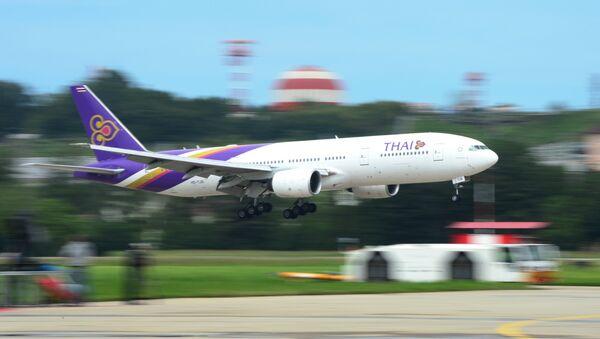 Самолет авиакомпании Thai Airways. Архивное фото