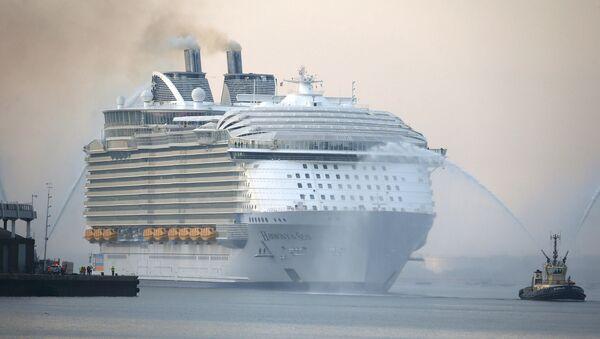 Самый большой круизный лайнер в мире — Harmony of the seas. Архивное фото
