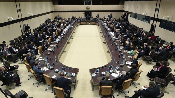 Встреча глав МИД стран НАТО в Брюсселе, Бельгия. 20 мая 2016