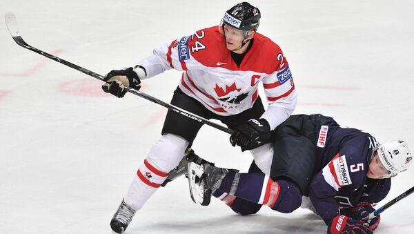 Хоккей. Чемпионат мира. Матч Канада - США
