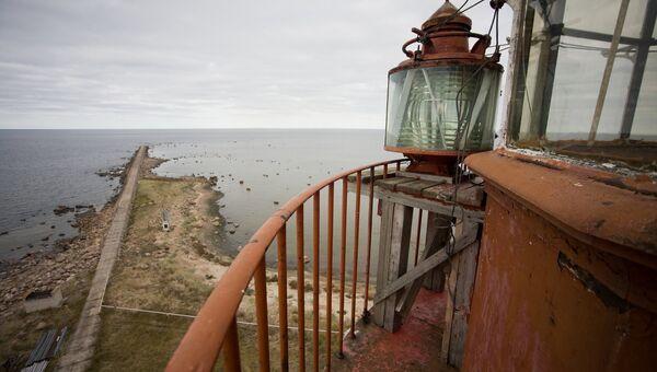Вид с маяка острова Сескар