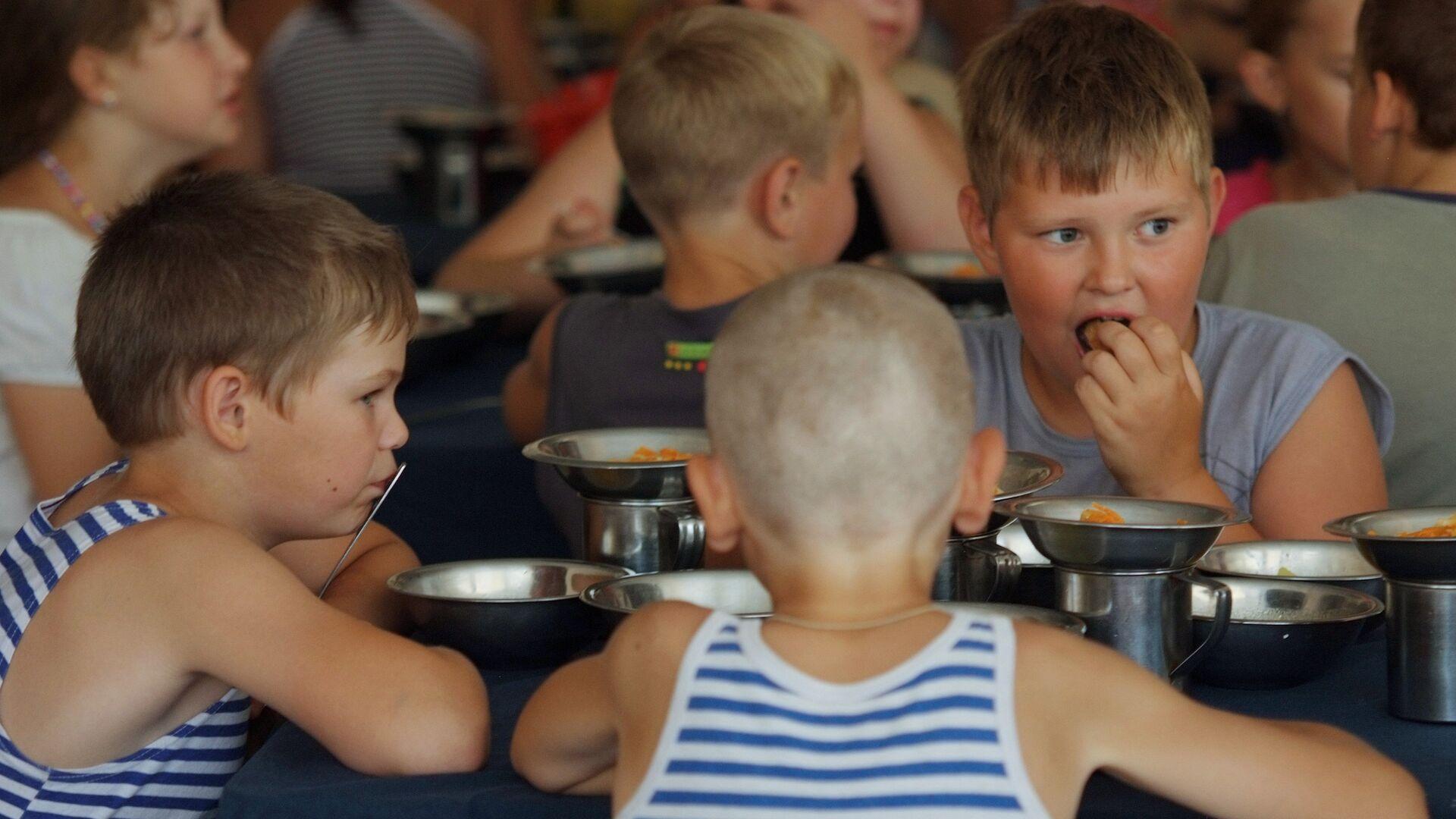 Детский отдых в оздоровительном лагере Парус - РИА Новости, 1920, 14.05.2021
