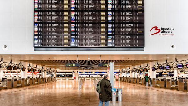 Аэропорт Брюсселя. Архивное фото