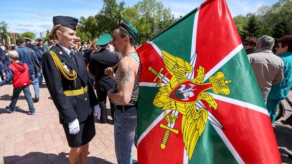 Празднование Дня пограничника в России