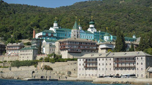Свято-Пантелеимонов монастырь на Святой горе Афон
