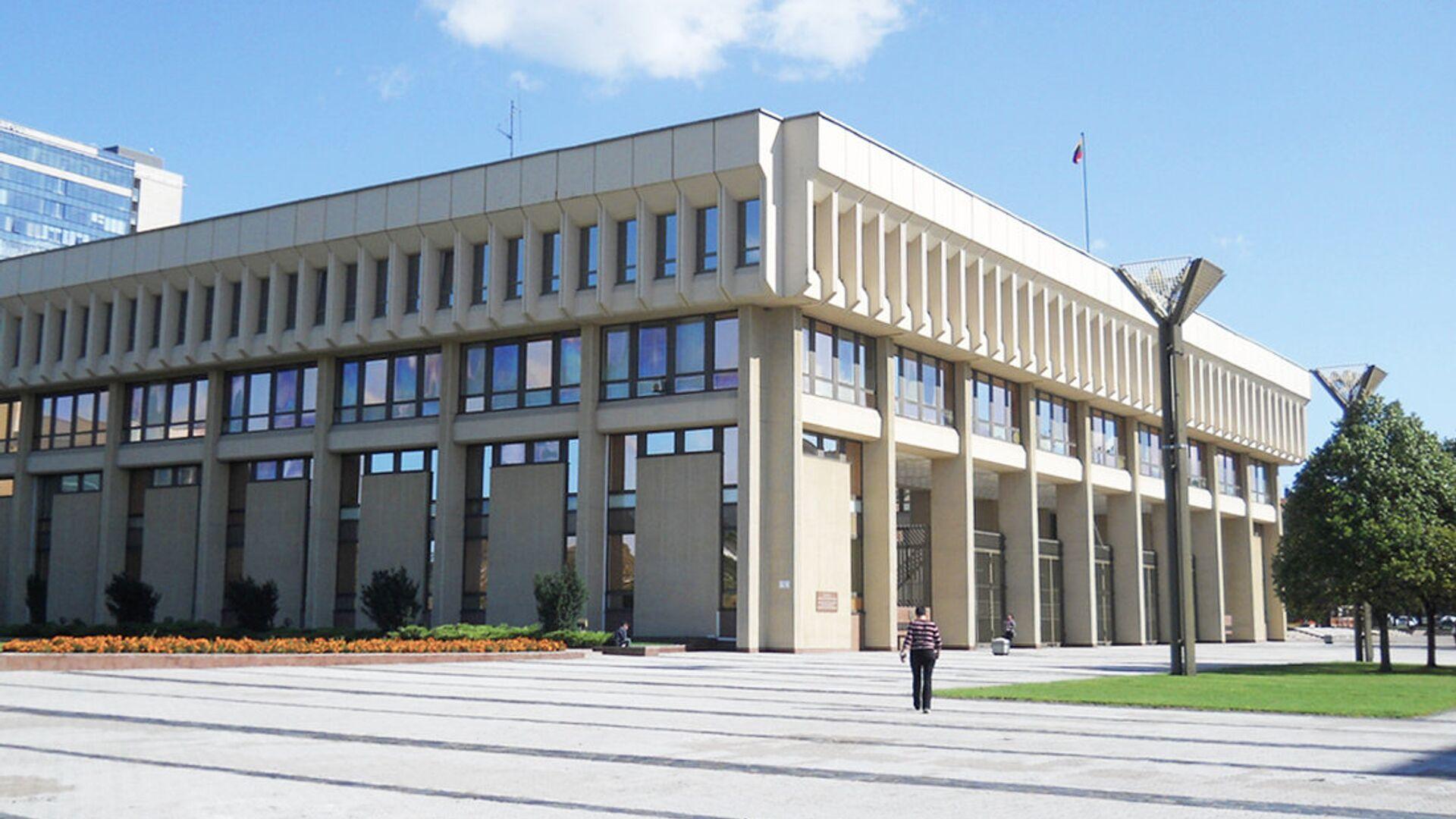 Сейм Литовской Республики в Вильнюсе - РИА Новости, 1920, 10.09.2020