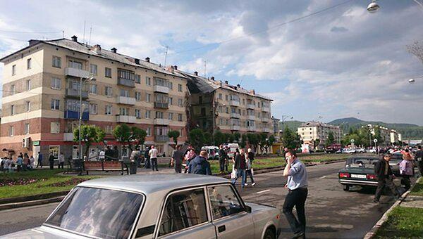 Обрушении подъезда в Междуреченске. Архивное фото