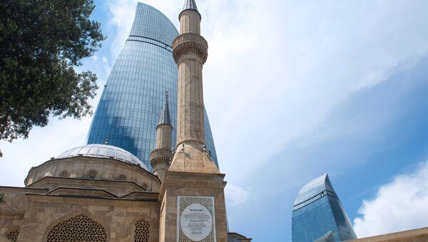Город Баку. Архивное фото
