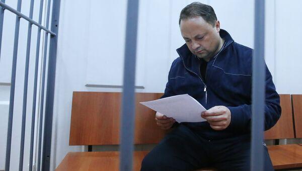Мэр Владивостока Игорь Пушкарев в Басманном суде Москвы. Ахивное фото