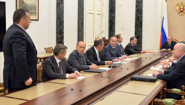 Заседание Совбеза РФ. Архивное фото