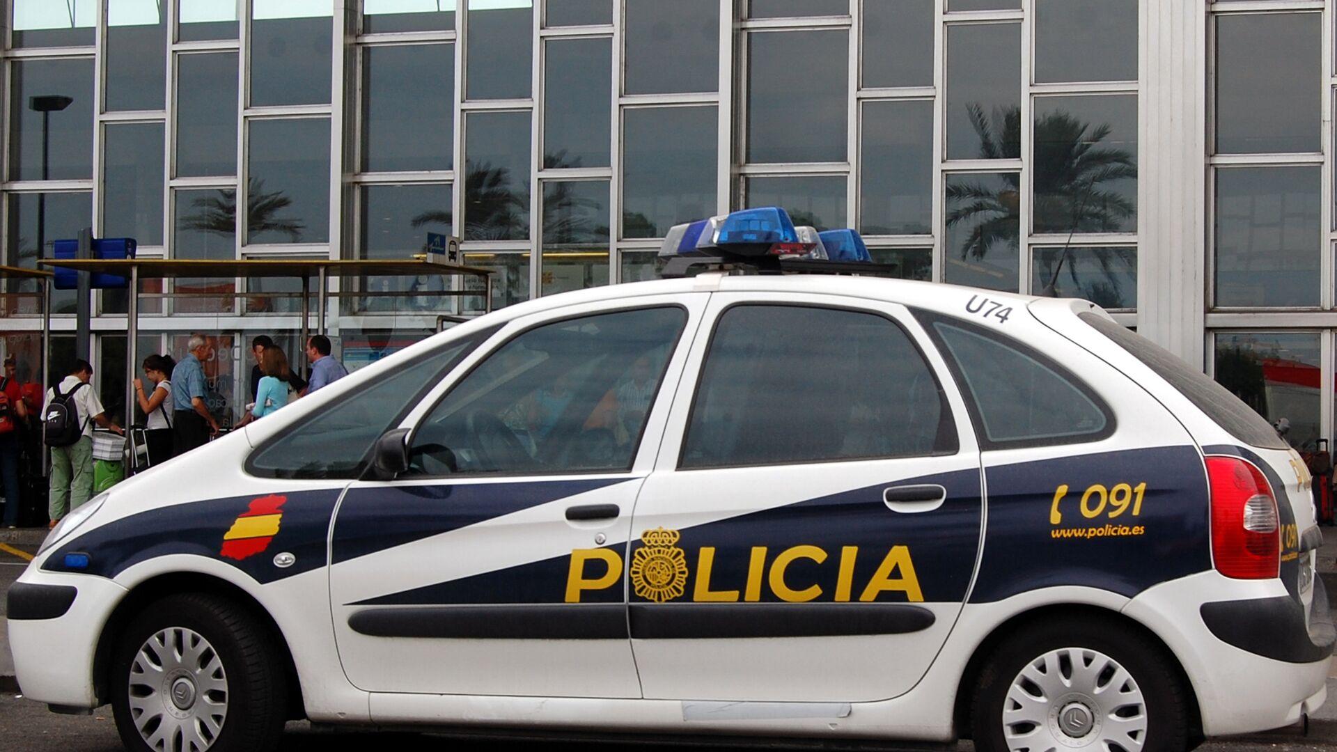 Автомобиль испанской полиции - РИА Новости, 1920, 14.11.2020