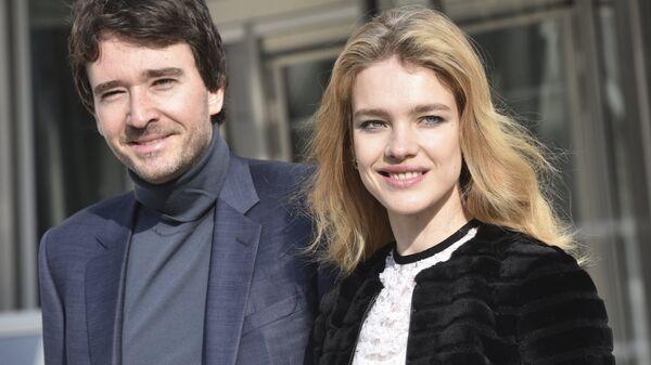 Российская модель Наталья Водянова и французский бизнесмен Антуан Арно