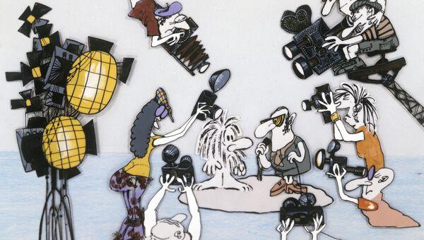 Кадр из мультфильма Остров. Архивное фото