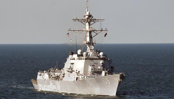 Американский корабль Jason Dunham в Черном море. Архивное фото