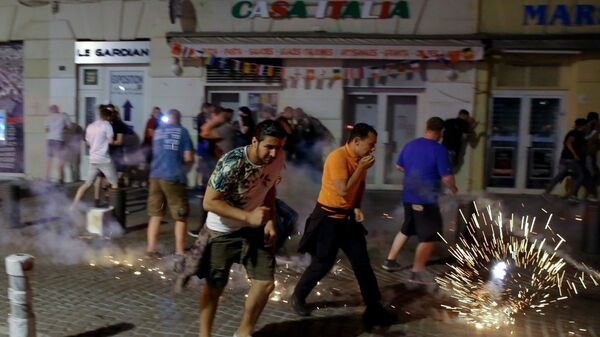 Ночные беспорядки в Марселе