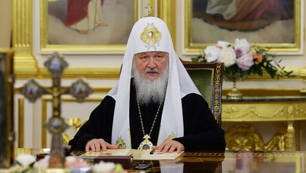 Экстренное заседание Священного синода РПЦ. Архивное фото
