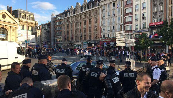 Ситуация в Лилле, Франция