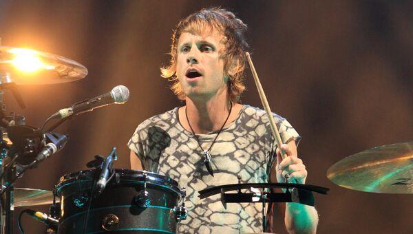 Барабанщик группы Muse Доминик Ховард
