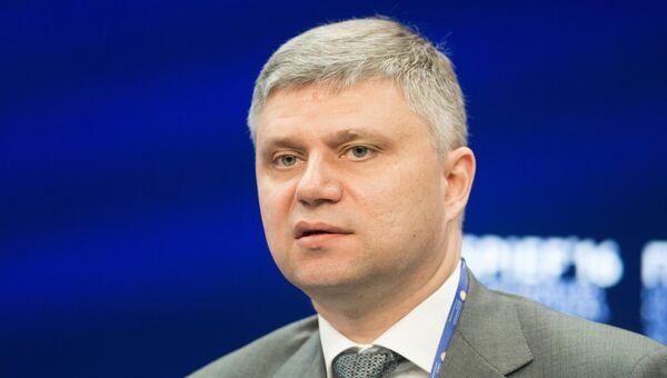 Председатель правления ОАО Российские железные дороги Олег Белозеров. Архивное фото