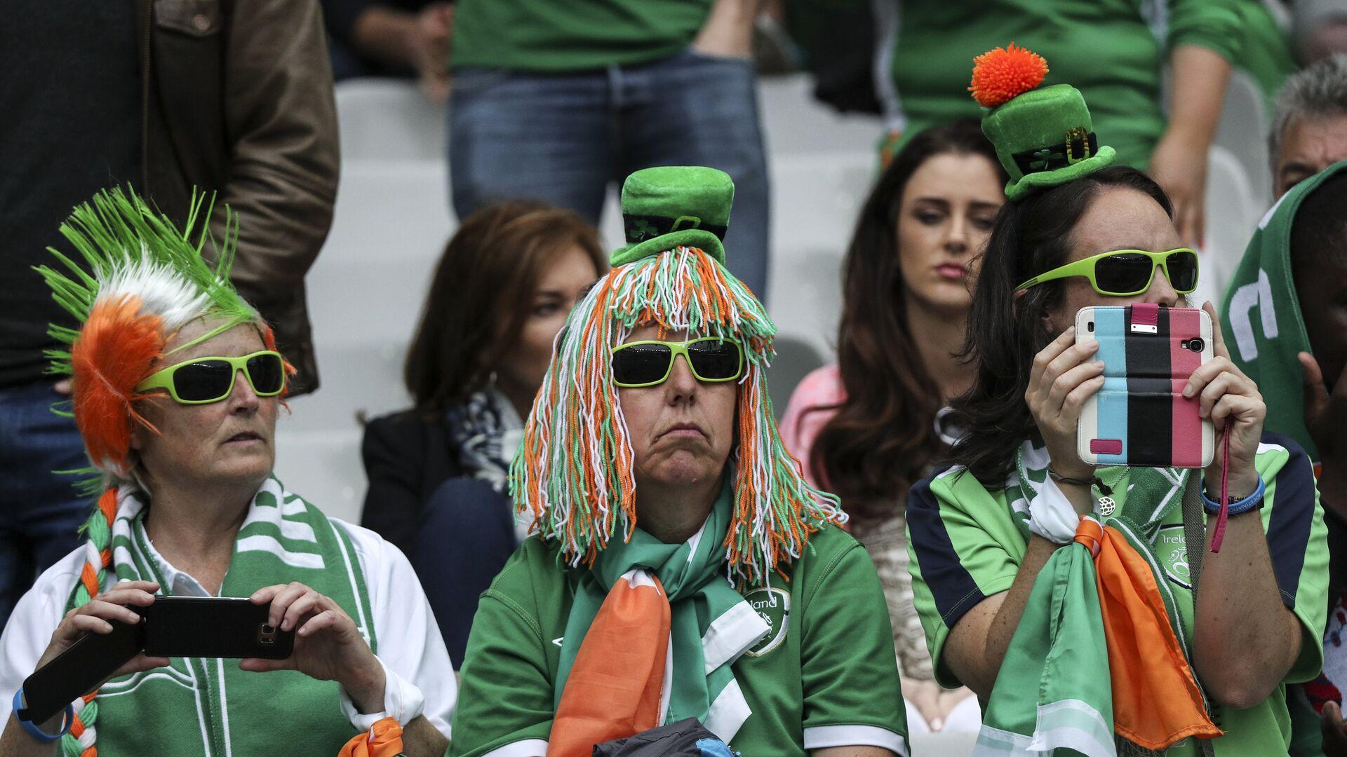 Ирландские болельщики перед началом матча группового этапа чемпионата Европы по футболу - 2016  - РИА Новости, 1920, 11.10.2020