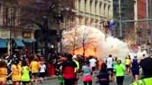 Взрыв на линии финиша Бостонского марафона. 15 апреля 2013 года