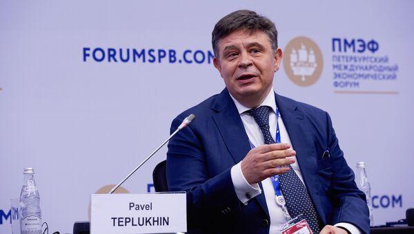 Главный исполнительный директор группы Deutsche Bank в России Павел Теплухин