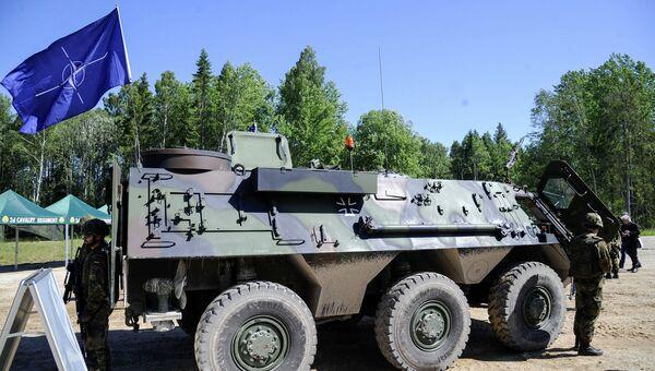 Военнослужащие армии США на учениях Saber Strike в Эстонии