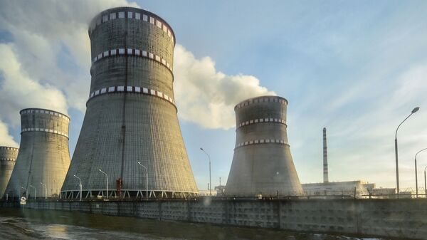 Ровенская атомная электростанция в Кузнецовске. Архивное фото
