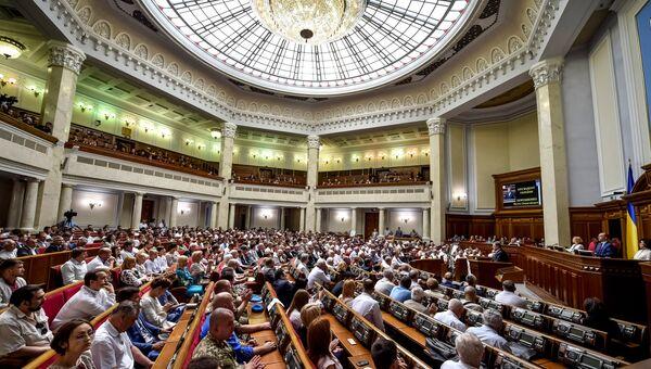 Собрание в Верховной раде Украины. Архивное фото