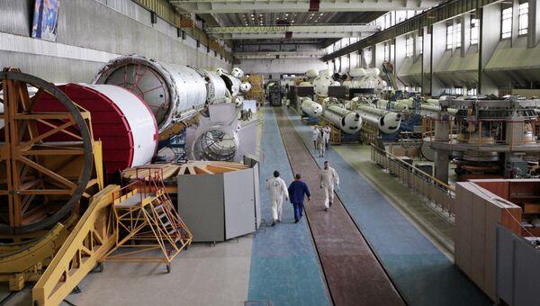 Работа Государственного космического научно-производственного центра имени Хруничева