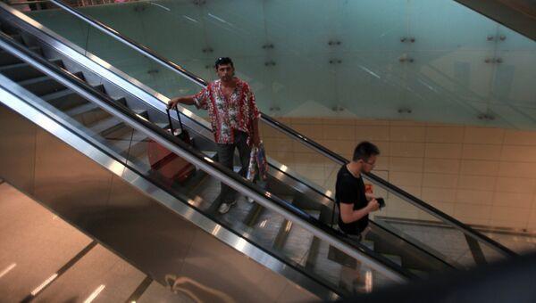 Ситуация в международном аэропорту имени Ататюрка в Стамбуле. Архивное фото