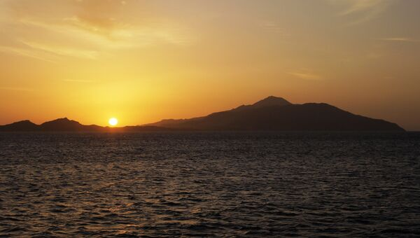 Восход солнца в Красном море. Архивное фото