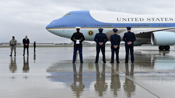 Самолет американского президента на базе ВМС США Эндрюс