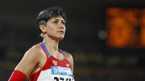 Российская легкоатлетка Татьяна Лебедева