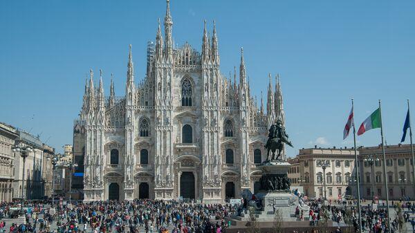 Кафедральный собор в Милане, Италия