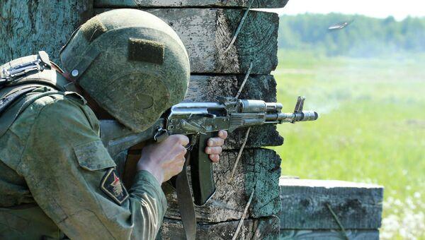 Учебный центр Национальной гвардии РФ. Архивное фото