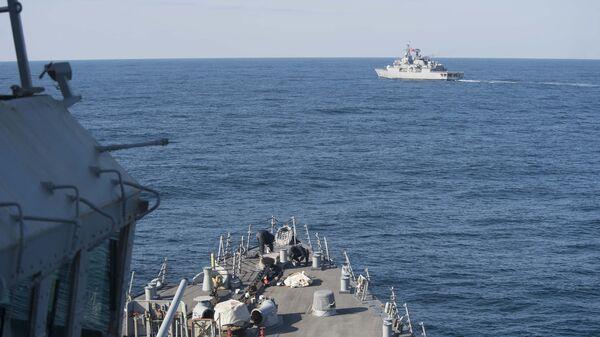 Военные корабли США и Турции в Черном море, архивное фото