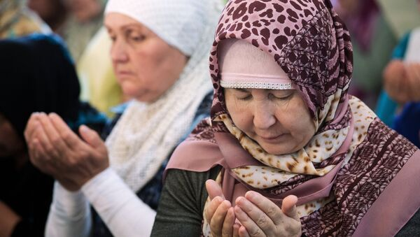 Мусульмане в России. Архивное фото