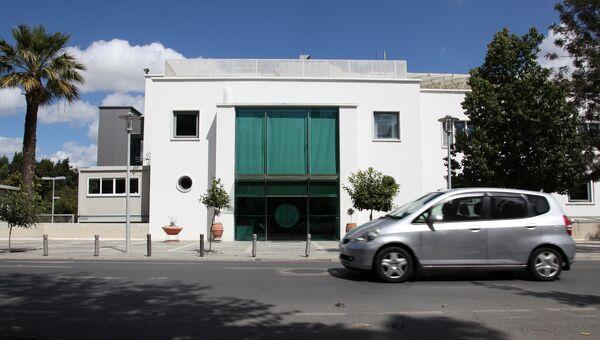 Здание парламента Кипра в Никосии