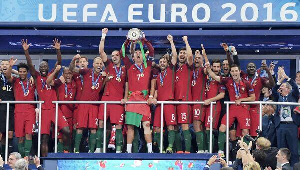 Футбол. Чемпионат Европы - 2016. Финал. Матч Португалия - Франция