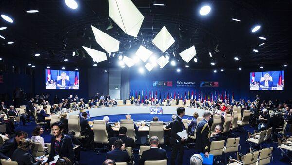 Саммит НАТО в Варшаве. Архивное фото