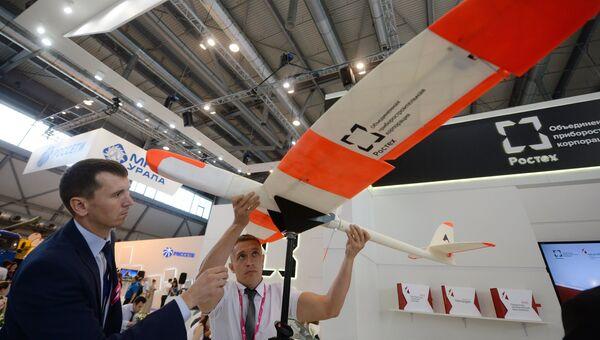 Беспилотный летательный аппарат ОПК на выставке Иннопром-2016